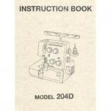 Instruction Manual, Janome 204D