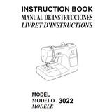 Instruction Manual, Janome 3022