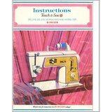 Instruction Manual, Singer 635E3