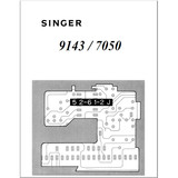 Instruction Manual, Singer 7050
