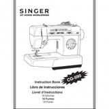 Instruction Manual, Singer CG-590