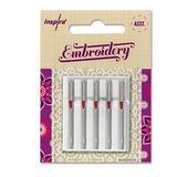 5pk Inspira Embroidery Needles (H-E)