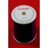 Black Embroidery Bobbin Thread, 874yds, Janome