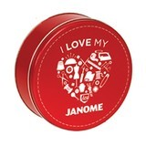 Thread Tin - 30 Spools - Janome