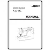 Instruction Manual, Juki HZL-35Z