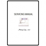 Service Manual, Janome MC8000