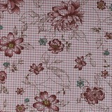Henry Glass, My Back Porch, Checkered Flowers Fabric