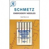 Embroidery Needles, Schmetz (5 pk)