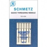 Quick Threading Needles, Schmetz (5 Pack)