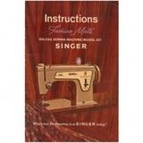 Instruction Manual, Singer 237 Fashion Mate