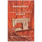 Instruction Manual, Singer 239