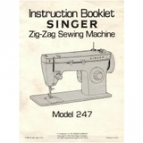 Instruction Manual, Singer 247