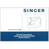 Instruction Manual, Singer 2662