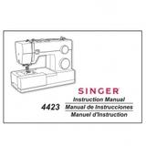 Instruction Manual, Singer 4423
