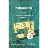 Instruction Manual, Singer 457 Stylist