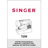 Instruction Manual, Singer 7258 Stylist