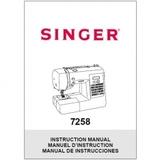 Instruction Manual, Singer 7258 Stylist
