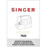 Instruction Manual, Singer 7422