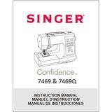 Instruction Manual, Singer 7469Q