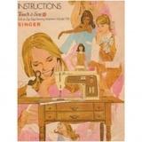 Instruction Manual, Singer 758