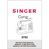 Instruction Manual, Singer 8780 (Curvy)
