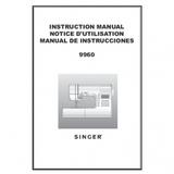Instruction Manual, Singer 9960 Quantum Stylist