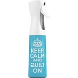 Keep Calm and Quilt On Spray Bottle