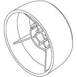 Handwheel, Singer #68003596