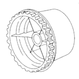 Timing Belt Pulley, Singer #364290-900