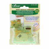 Desk Needle Threader Green Clover #4072CV