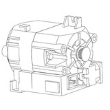 Motor, Pfaff #413115901