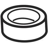 Rubber Cushion Foot, Viking #416034801