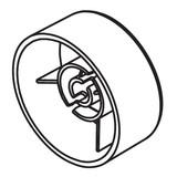 Handwheel, Viking #4163085-01