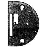 Needle Plate, Singer #44137
