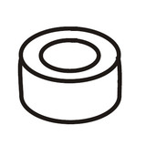 Ball Bushing Socket, Singer #507379-001