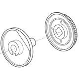 Belt Wheel Unit, Janome #846523000