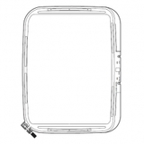 """Embroidery Hoop 7.9"""" X 11"""", Janome #864411000"""