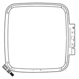 """Embroidery Hoop SQ20B 7.9"""" X 7.9"""", Janome #864412001"""