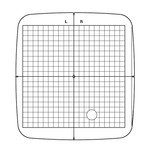 Hoop Grid for SQ20B, Janome #864801A01
