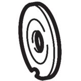 Tension Disc (B), Brother #XA0084121