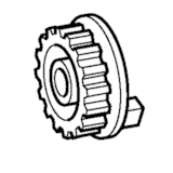 Upper Shaft Pulley, Brother #XC8317050
