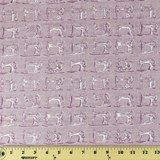 Andover, Haberdashery Sewing Machine Fabric, Lavender
