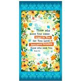 Quilting Treasures, Trust in You, Psalms Fabric Panel