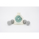 Wooly Felted Wonders, Dryer Balls - Bag of 4, Gray