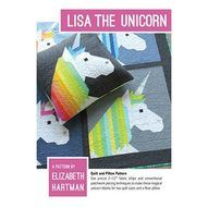 Lisa the Unicorn Quilt and Pillow Pattern