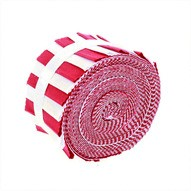 Supreme Solids, Red and White Fabric Roll, Gallery Rolls