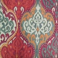 "Waverly, Lunar Sky, Cinnabar Upholstery Fabric - 54"""