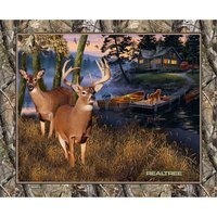 Realtree Lakeside Sunset Fabric Panel