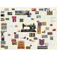 Counting the Stitches 1000pc Jigsaw and Crossword Puzzle
