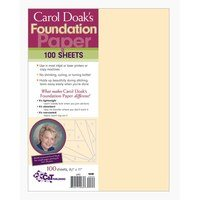 Carol Doak's Foundation Paper - 100pk